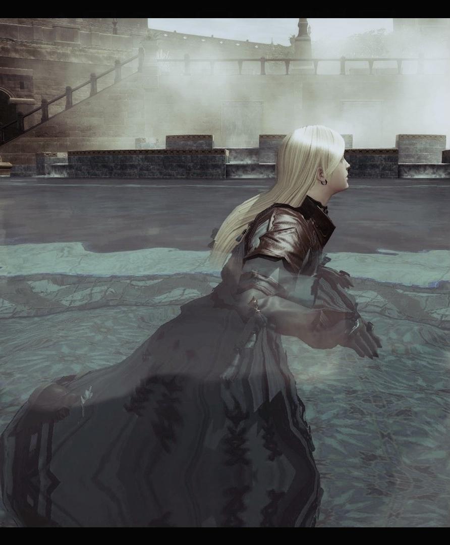 泳ぐff14プールで.jpeg